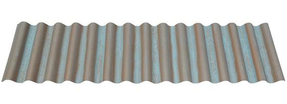 "7/8"" Corrugated in Streaked Copper®"