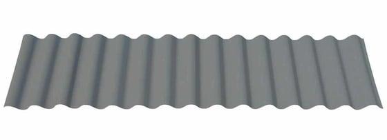 "7/8"" Corrugated in Matte Musket Gray®"
