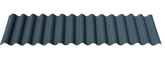 "7/8"" Corrugated in Matte Black®"