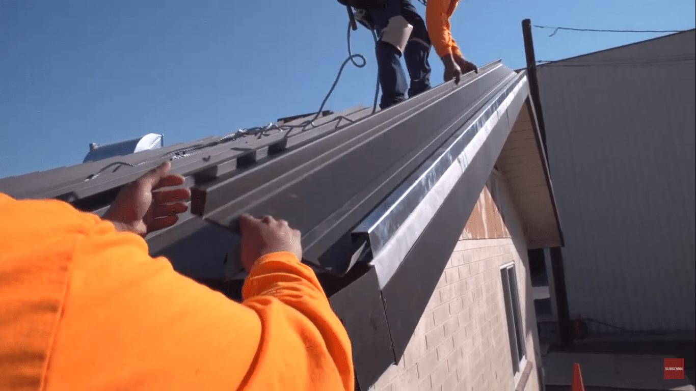 Standing Seam Metal Roof Installation Clip Attachment-4