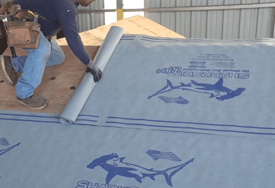 How To Install Synthetic Underlayment On A Metal Roof-15