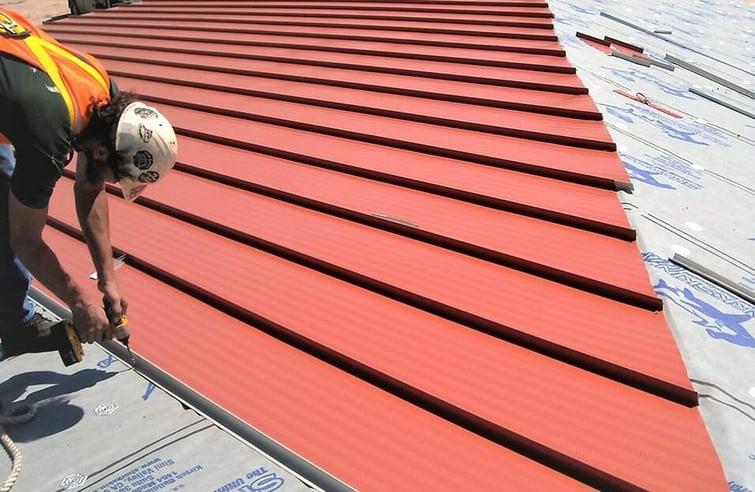 Metal Roofing Underlayment Installation