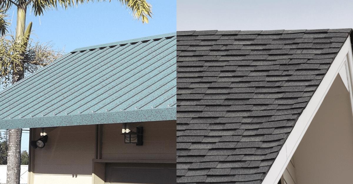 Metal Roofing v. Asphalt Shingles