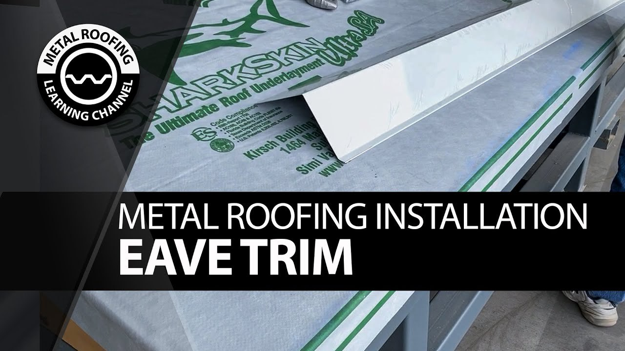 how-to-install-metal-eave-trim-corrugated-metal