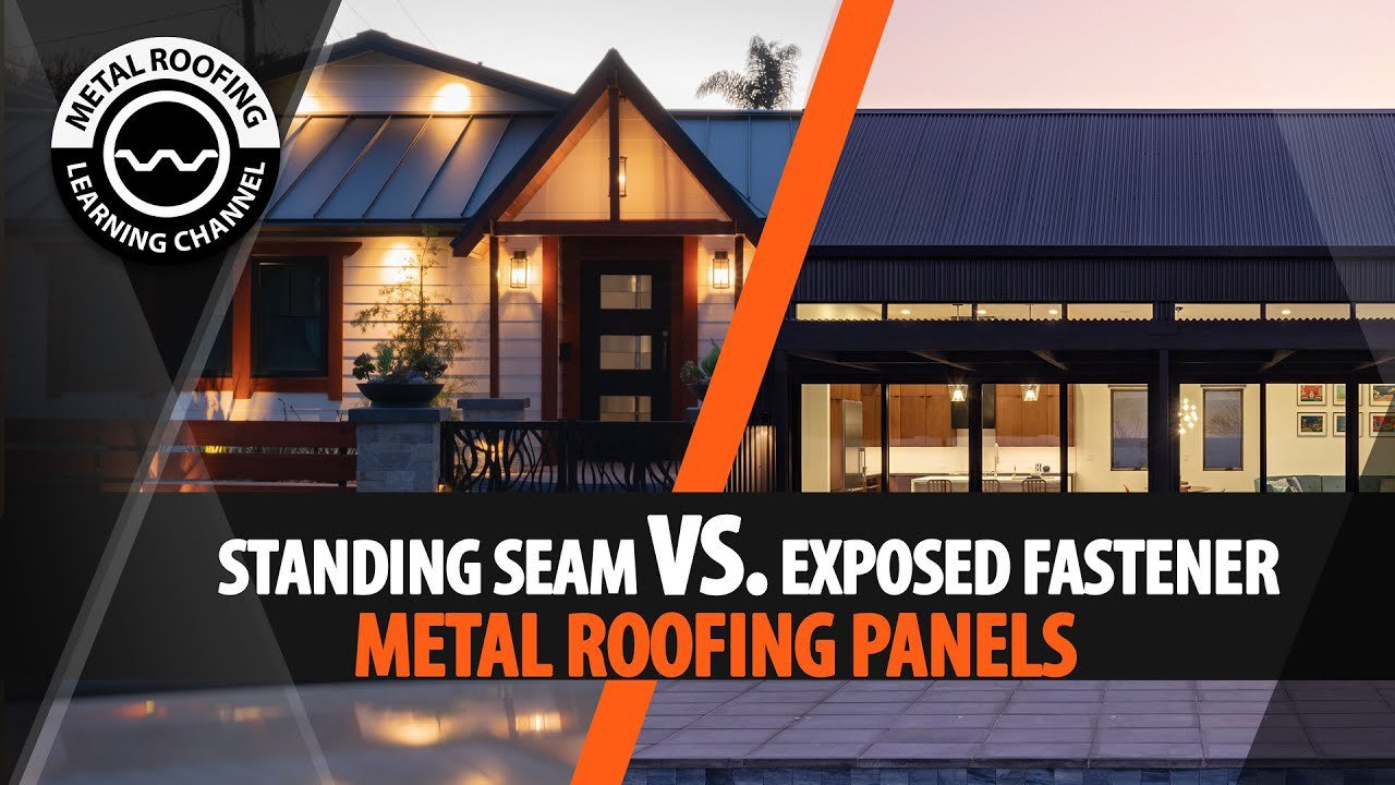 standing-seam-vs-exposed-fastener-video