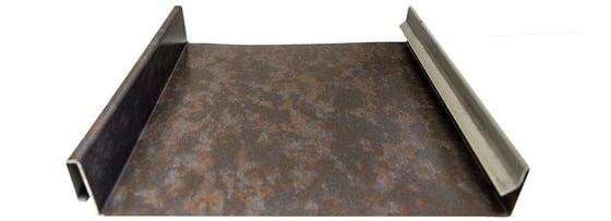 Standing Seam Blackened Copper