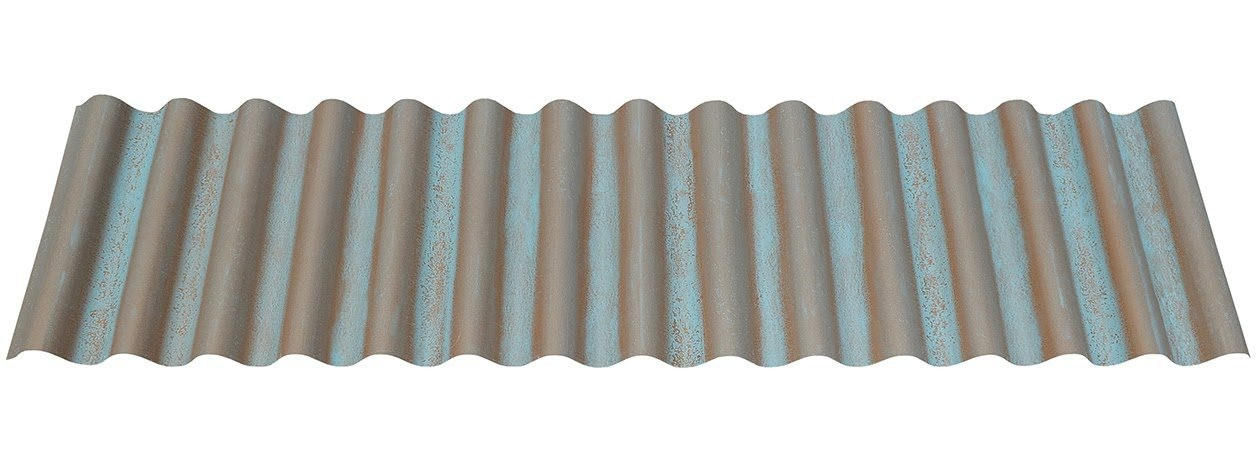 "7/8"" Corrugated in Streaked Copper®"