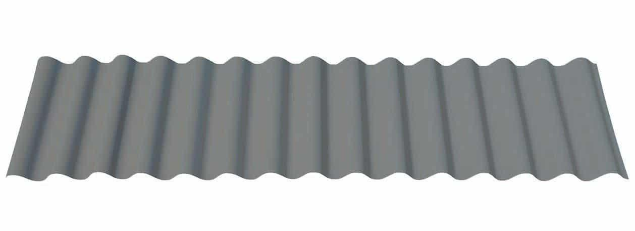 "7/8"" Corrugated in Matte Musket Gray®"