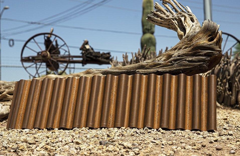 "7/8"" Corrugated in Streaked Rust®"