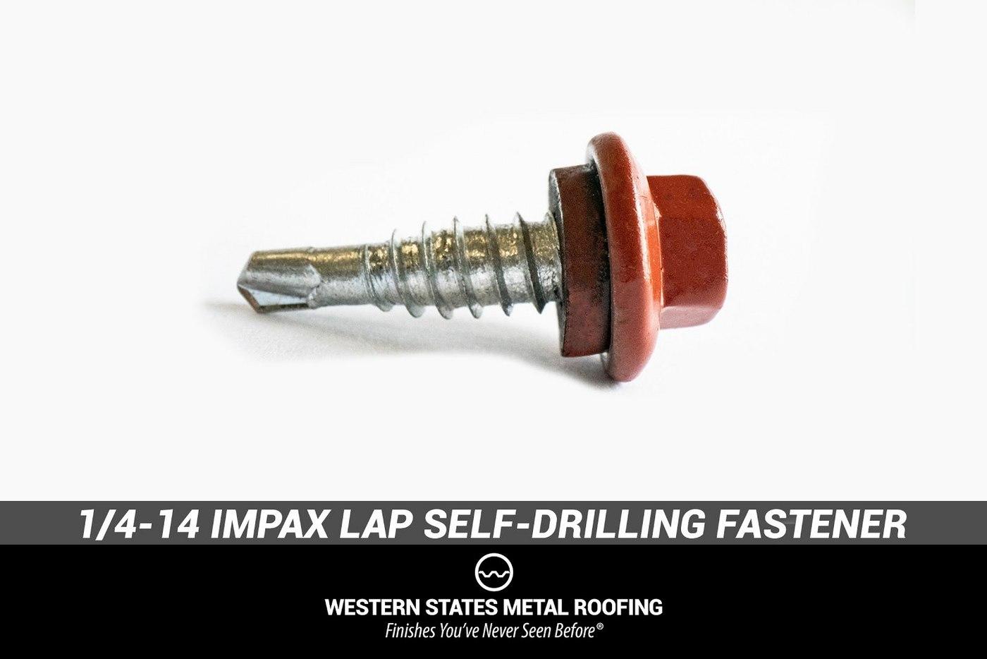 1/4-14 Impax Lap Self-Drilling Fastener