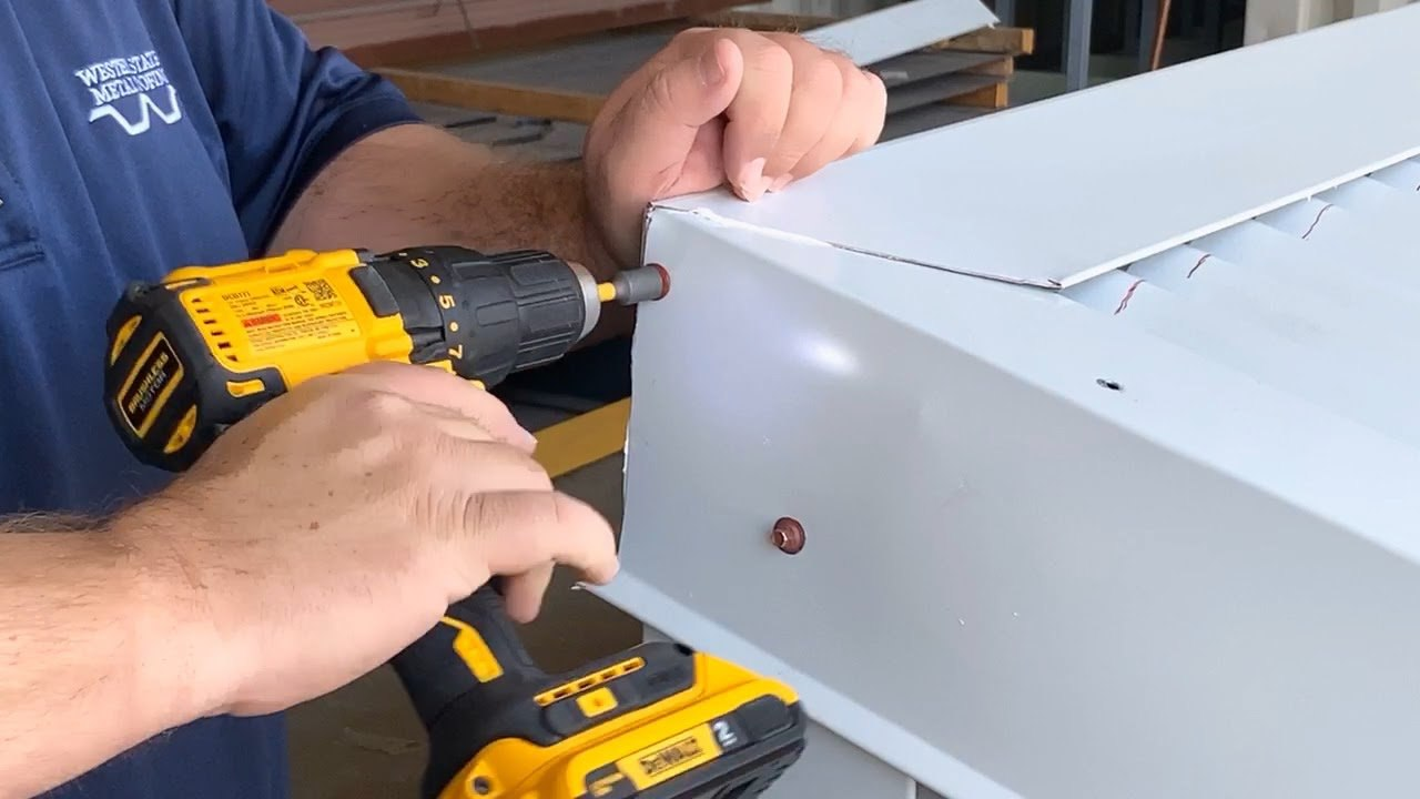 How To Install Peak Trim Flashing On Metal Roof. A Step By Step Guide
