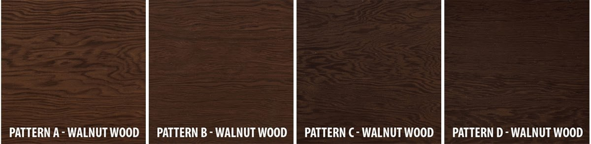 The Four Different Patterns Of Walnut Wood