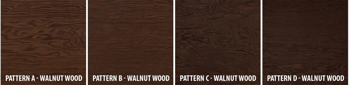 Walnut wood patterns