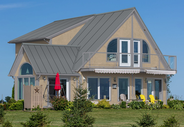 house colors to avoid with a gray metal roof