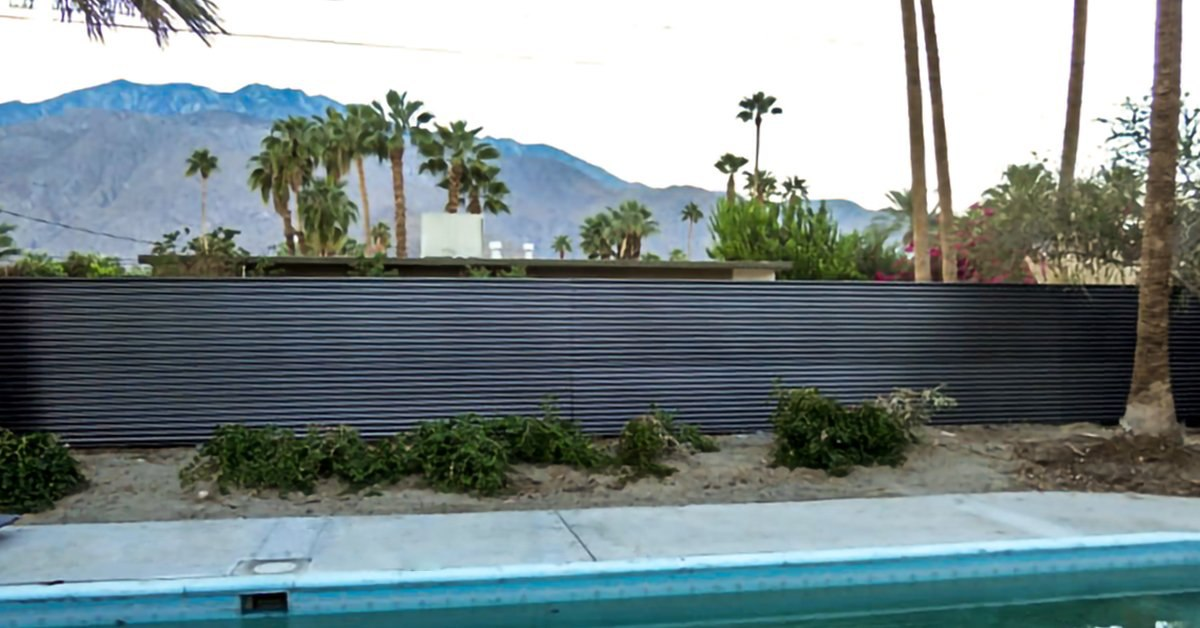 Corrugated Metal Fence: 4 Benefits Of Metal Fencing